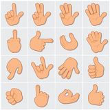 Human Hands Clip Art 2 Stock Photo