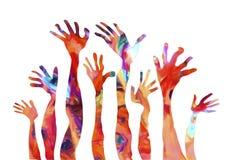 HUMAN HANDS Stock Image
