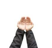 Human Hands praying Royalty Free Stock Image