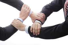 Human Hands Showing Unity Royalty Free Stock Image