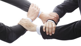 Human Hands Showing Unity Stock Images