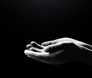 Human hands sign Royalty Free Stock Photography
