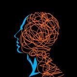 Human head stock illustration