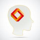 Human Head Paradox Royalty Free Stock Images