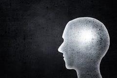 Human head Stock Image