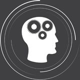 Gears in the head stock illustration