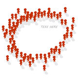 Human icon group. Illustration of human icon group Royalty Free Stock Photos