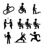 Human icons vector illustration