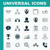 Human Icons Set. Collection Of Increase, Hierarchy, Destination And Other Elements. Also Includes Symbols Such As Stock Photo
