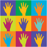 Human identity and diversity concept. Stock Image