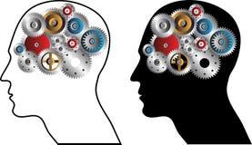 Human intelligence Royalty Free Stock Image