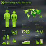 Human issues infographics template poster Royalty Free Stock Images