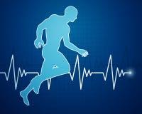 Human jogger Royalty Free Stock Photography