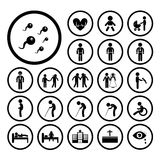 Human life icon Royalty Free Stock Image