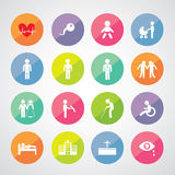 Human life icon Stock Photo