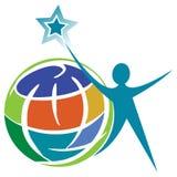 Human logo Stock Photography