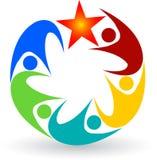 Human logo Stock Images