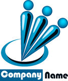Human logo Royalty Free Stock Photo