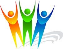 Human logo Royalty Free Stock Photography