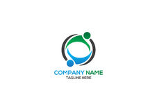 Human logo Royalty Free Stock Images