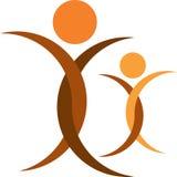 Human logo Royalty Free Stock Photos