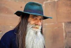 Human, Man, Face, View, Bart, Hat Stock Photography