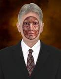 Human Man Muscle Map concept Stock Photos