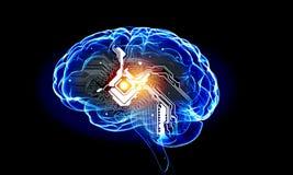 Human mind stock photos