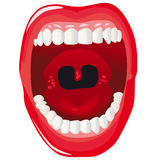Human mouth Stock Photo