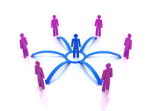 Human network Royalty Free Stock Images