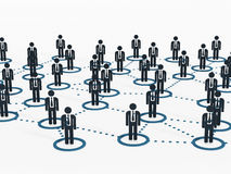 Human network Stock Photography