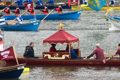 The human power boats at the Royal Pageant Stock Photography