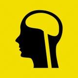 Human profile design Stock Photography