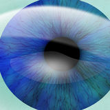 Human pupil Royalty Free Stock Photo