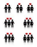 Human relationships Royalty Free Stock Image