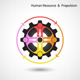 Human resource and business & industrial propulsion concept. Royalty Free Stock Photos