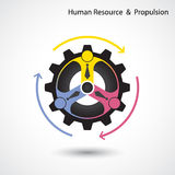 Human resource and business & industrial propulsion concept. Stock Photography