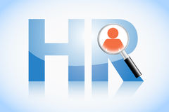 Human resource concept Royalty Free Stock Photos