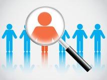 Human resource concept Stock Photos
