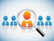 Human resource concept Royalty Free Stock Photos