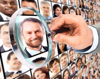 Human resource concept Royalty Free Stock Photo