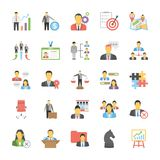 Human Resource Flat Icons. Get your next Human Resource Vector Icons Set! These Icons are great for presentations, web design, web apps, mobile applications or Stock Photography