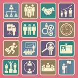 Human resource icon. Set of human resource icon Stock Photography