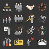 Human resource icon Stock Photography