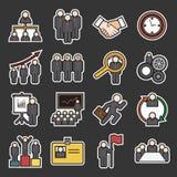 Human resource icon Stock Image