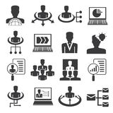 human resource icons Stock Images