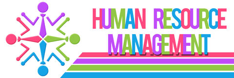 Human Resource Management Colorful Stock Photography