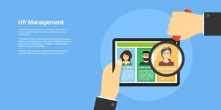 Human resource management concept Stock Image