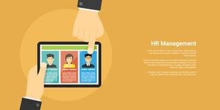 Human resource management concept Stock Photos