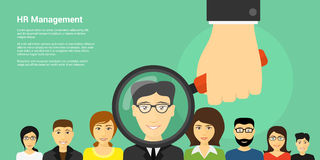 Human Resource Management Royalty Free Stock Images